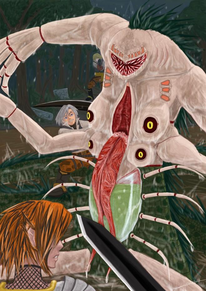 沼地の恐怖/Miry terror