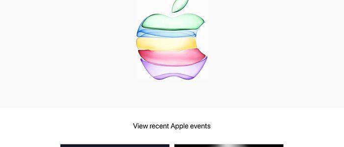 アップルのイベント2019